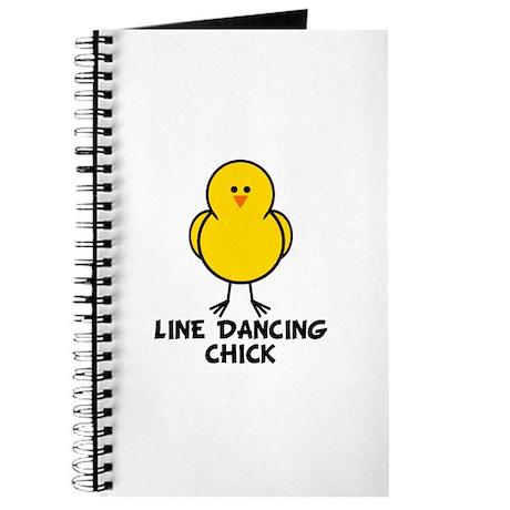 Line Dancing Chick Journal
