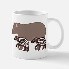 Tapir Family A Mug