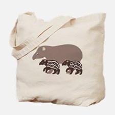 Tapir Family A Tote Bag