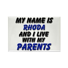 my name is rhoda and I live with my parents Rectan
