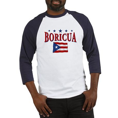 Puerto rican pride Baseball Jersey
