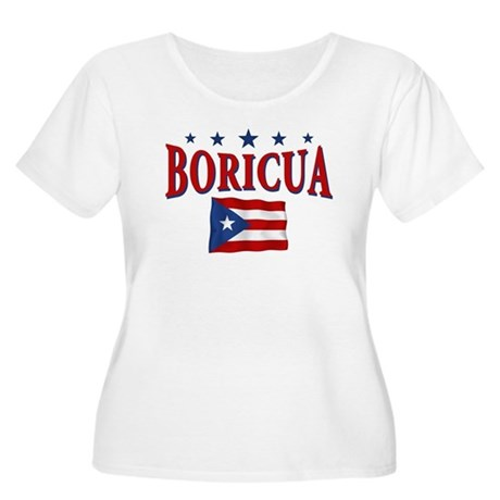 Puerto rican pride Women's Plus Size Scoop Neck T-