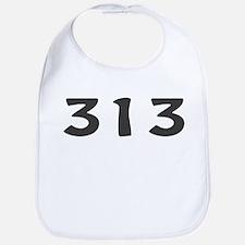 313 Area Code Bib