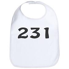 231 Area Code Bib