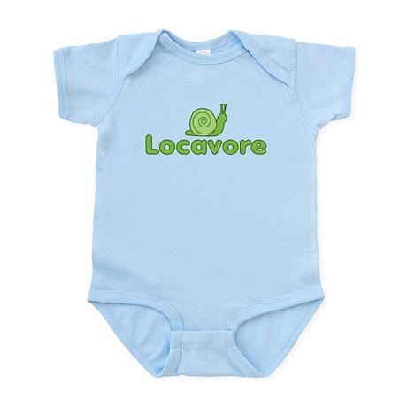 Locavore Snail Infant Bodysuit