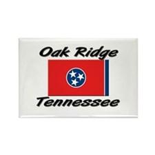 Oak Ridge Tennessee Rectangle Magnet