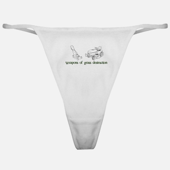Weapons of Grass Destruction Classic Thong