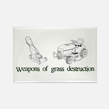 Weapons of Grass Destruction Rectangle Magnet