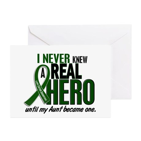 REAL HERO 2 Aunt LiC Greeting Cards (Pk of 10)