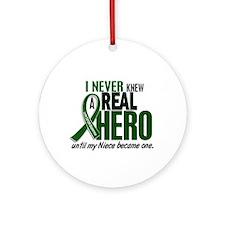 REAL HERO 2 Niece LiC Ornament (Round)