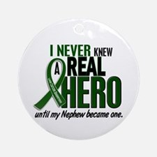 REAL HERO 2 Nephew LiC Ornament (Round)