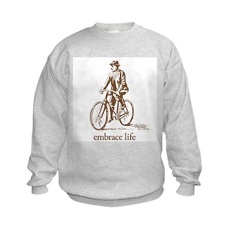 'embrace life' Kids Sweatshirt