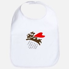 I believe in integrity. Dogs have it. Hum Baby Bib