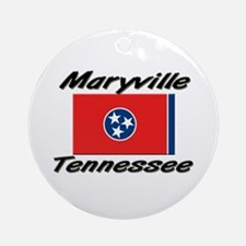 Maryville Tennessee Ornament (Round)