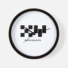 Minimal Unisex Wall Clock