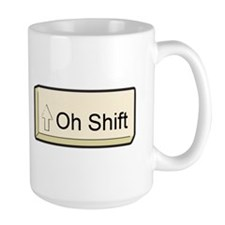 Oh Shift! key Mug