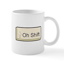 Oh Shift! key Mug
