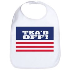 Tea'd Off! Bib