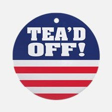 Tead Off! Ornament (Round)