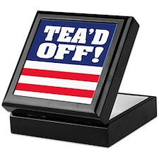 Tea'd Off! Keepsake Box