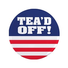"Tead Off! 3.5"" Button (100 pack)"