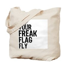 Freak Flag Tote Bag