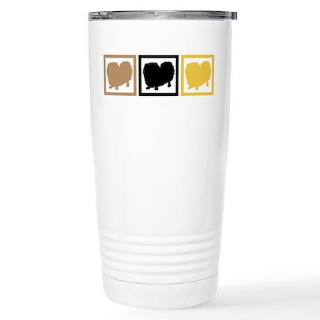 Pekingese Stainless Steel Travel Mug
