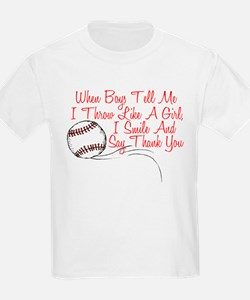 I Smile and Say Thank You T-Shirt