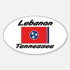 Lebanon Tennessee Oval Decal