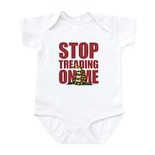 Gadsden Flag Stop Treading on Me Infant Bodysuit