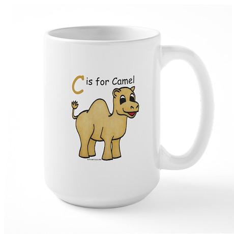 C is for Camel Large Mug