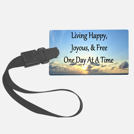 LIVING HAPPY Luggage Tag
