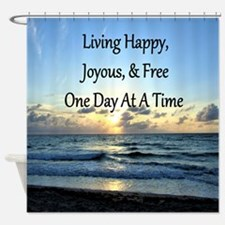 LIVING HAPPY Shower Curtain