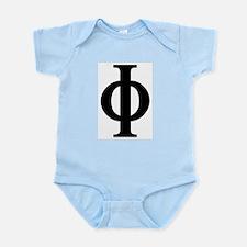 Phi (Greek) Infant Creeper