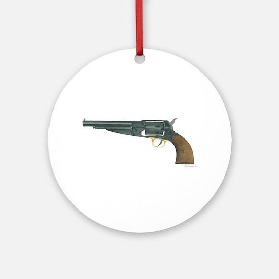 Civil War Firearm Ornament (Round)