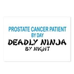 Prostate Patient Deadly Ninja Postcards (Package o