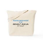 Prostate Patient Deadly Ninja Tote Bag