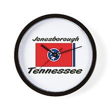 Jonesborough Tennessee Wall Clock