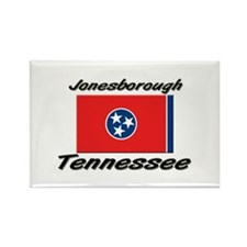 Jonesborough Tennessee Rectangle Magnet