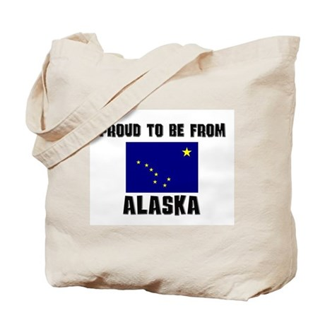 Proud To Be From Be ALASKA Tote Bag