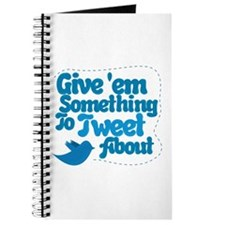Tweet Blue Bird Journal