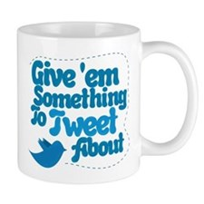 Tweet Blue Bird Mug