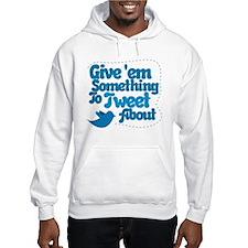 Tweet Blue Bird Hoodie