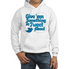 Tweet Blue Bird Hoodie Sweatshirt