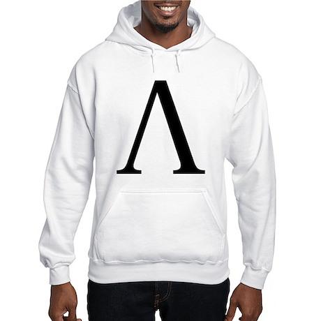 Lambda (Greek) Hooded Sweatshirt