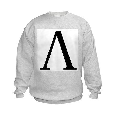 Lambda (Greek) Kids Sweatshirt