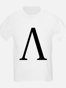 Lambda (Greek) Kids T-Shirt