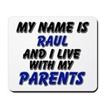 my name is raul and I live with my parents Mousepa