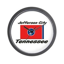 Jefferson City Tennessee Wall Clock