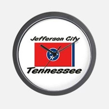 Jefferson City Tennessee Wall Clock